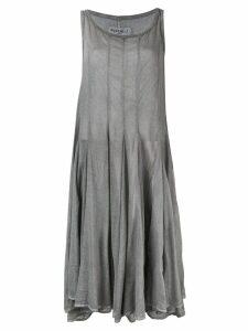 Rundholz flared midi dress - Grey