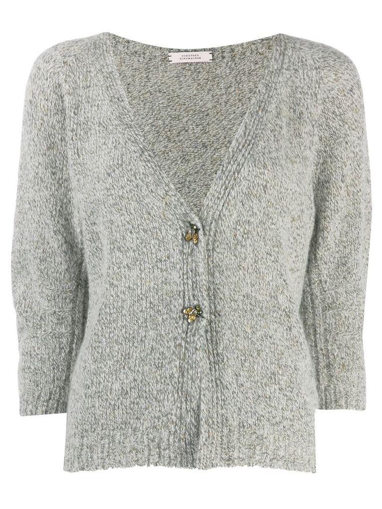 Dorothee Schumacher knitted cardigan - Grey