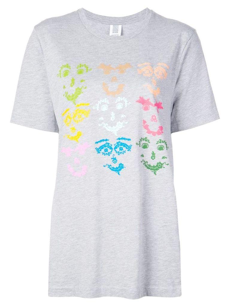 Rosie Assoulin graphic print T-shirt - Grey