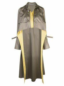 Silvia Tcherassi Sidney trench coat - Green
