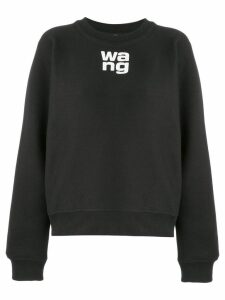 T By Alexander Wang classic jersey sweater - Black