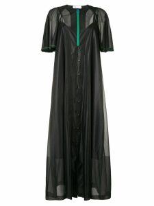 Toga oversized maxi dress - Black