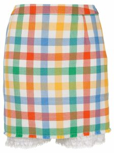 Thom Browne checked skirt - Multicolour