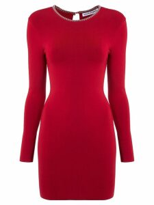 Alexander Wang fitted mini dress - Red