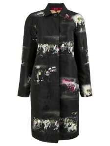 Sies Marjan club single breasted coat - Black