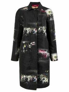 Sies Marjan club single breasted coat - Black