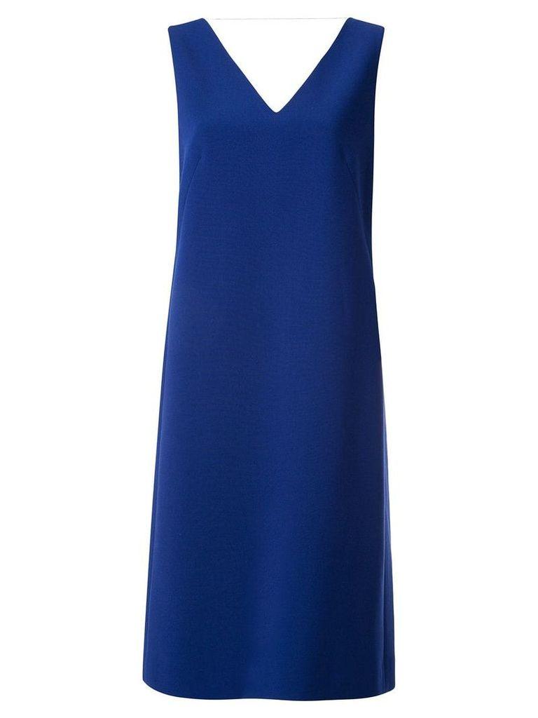 Juun.J V-neck shift dress - Blue