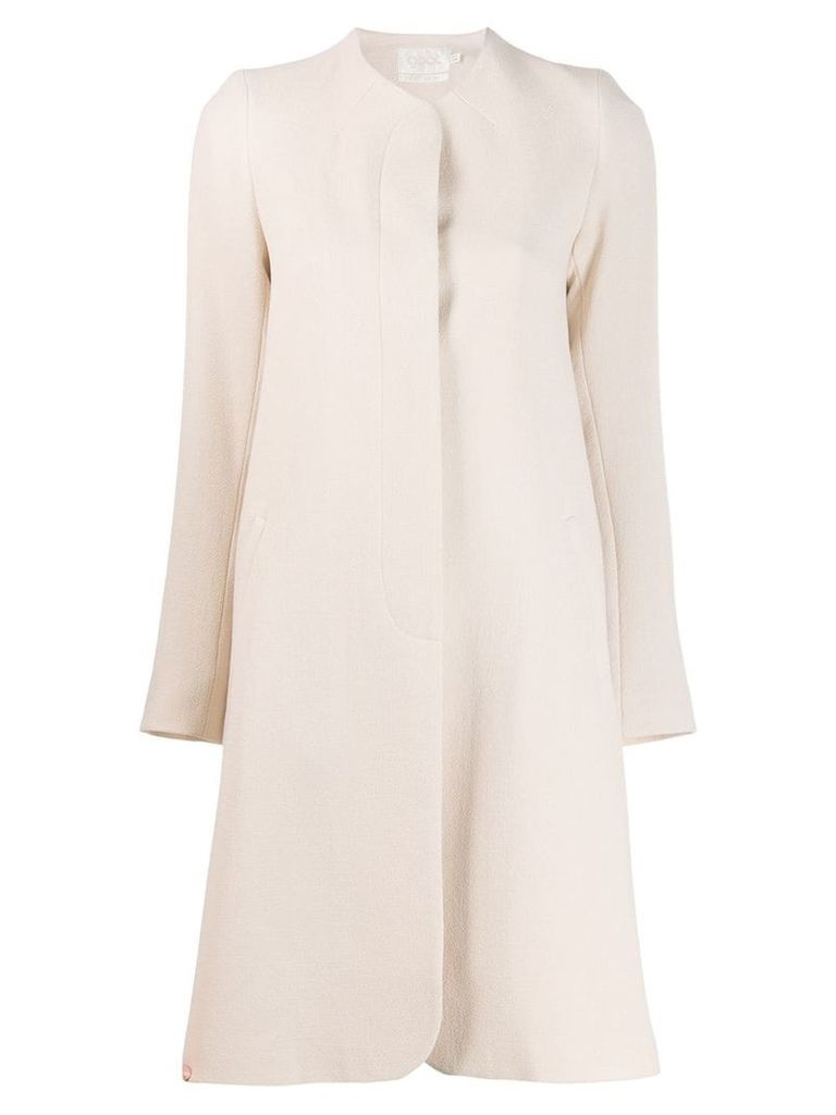 Goat Redgrave single-breasted coat - Neutrals
