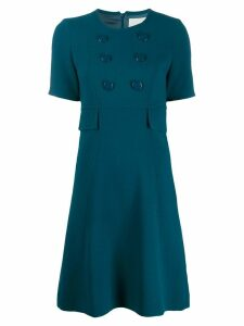 Goat Brigitte dress - Blue