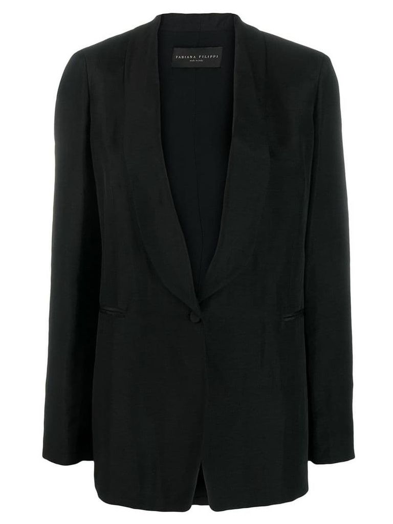 Fabiana Filippi boxy fit blazer - Black