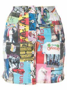 Ground Zero printed mini skirt - Multicolour