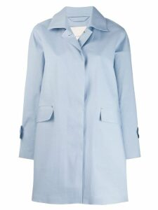 Mackintosh Placid Blue Bonded Cotton Coat LR-094