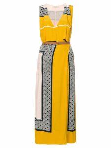 Tory Burch panel print dress - Multicolour