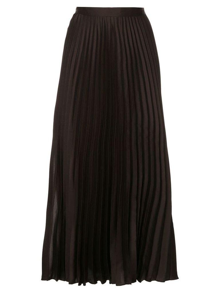GINGER & SMART Depth pleat skirt - Brown
