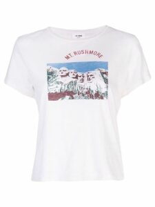 Re/Done Mt. Rushmore T-shirt - White