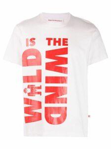 Walter Van Beirendonck Wild is The Wind T-shirt - White