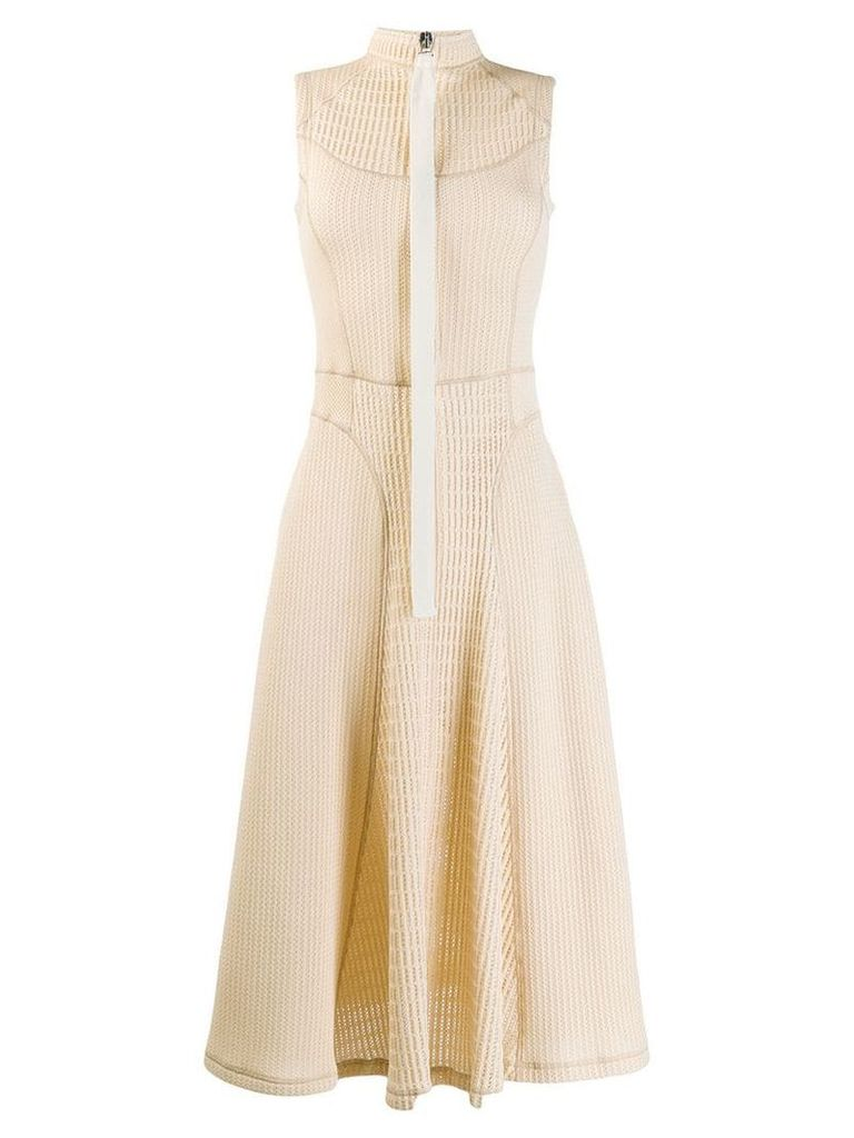 Jil Sander crochet dress - Neutrals