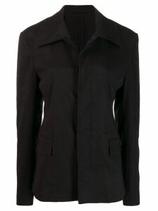 Golden Goose short trench coat - Black