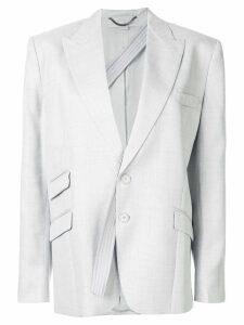 Stella McCartney removable strap blazer - Grey