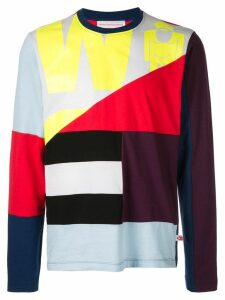 Walter Van Beirendonck Flag T-shirt - Multicolour