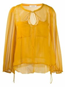Dorothee Schumacher patch pocket blouse - Yellow