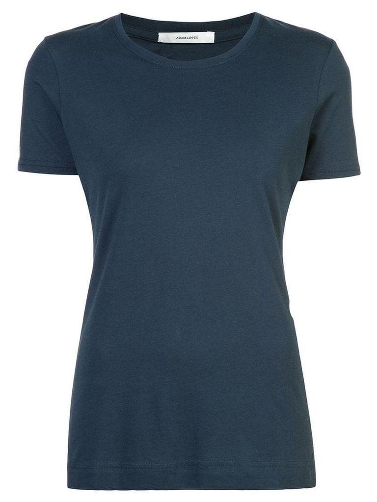 Adam Lippes round neck T-shirt - Blue