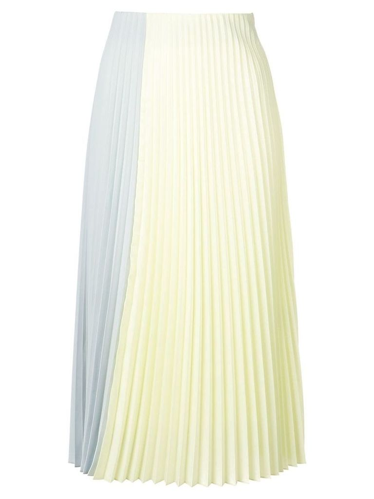 Tome pleated skirt - Yellow