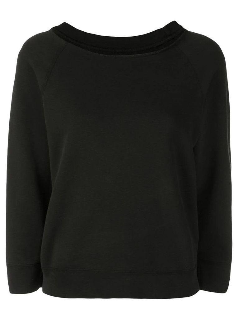 Nili Lotan Luka jersey sweater - Black