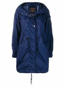 Woolrich classic raincoat - Blue