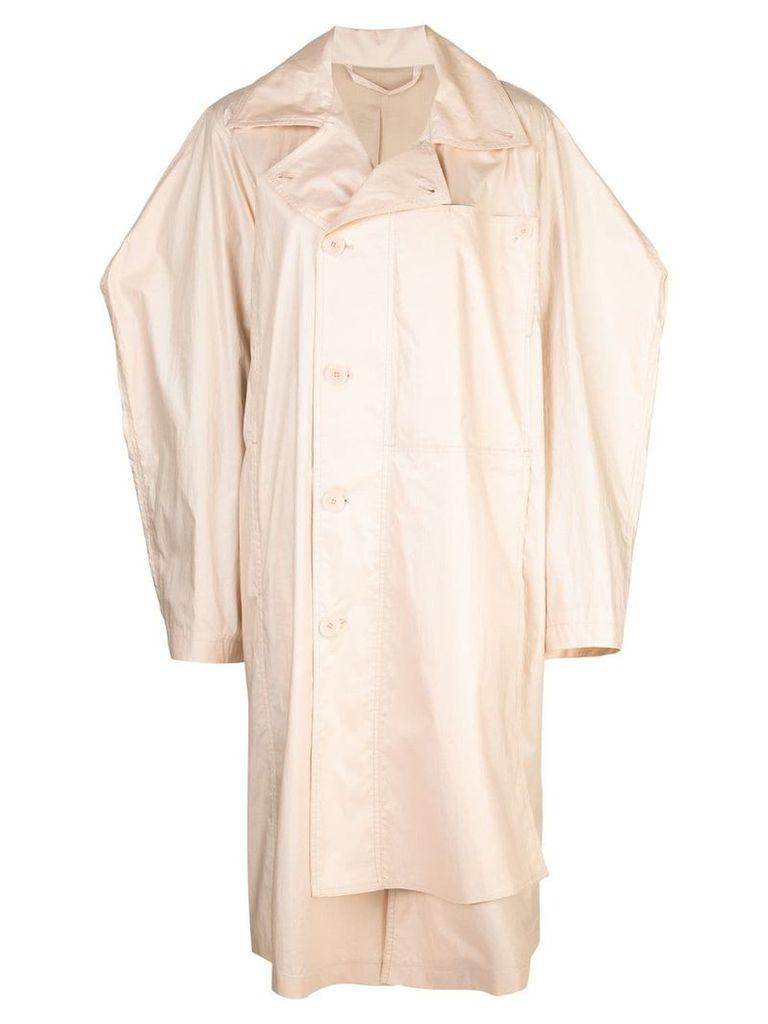 Lemaire asymmetrical coat - Neutrals