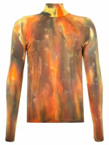 Ambush tie-dye fitted sweater - Multicolour
