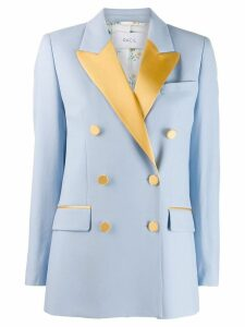 Racil double breasted blazer - Blue