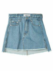 Ground Zero denim mini skirt - Blue