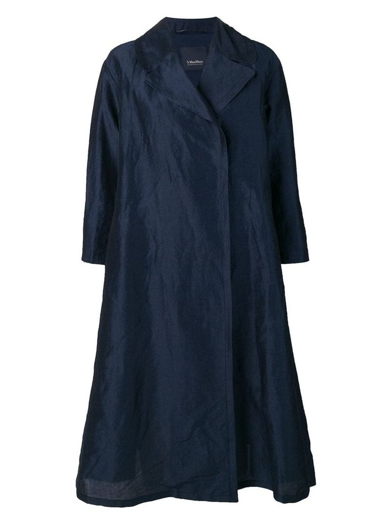 'S Max Mara lightweight trench coat - Blue