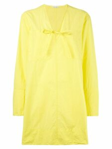 Tomas Maier tunic dress - Yellow