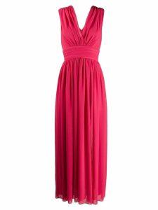 Blanca flared evening dress - Pink
