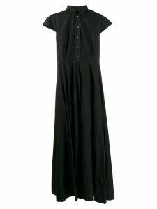 Aspesi maxi shirt dress - Black