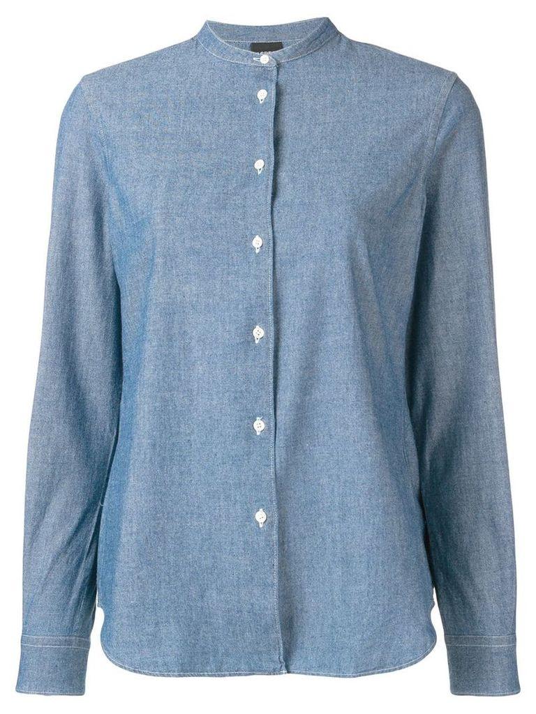 Aspesi loose fitted shirt - Blue