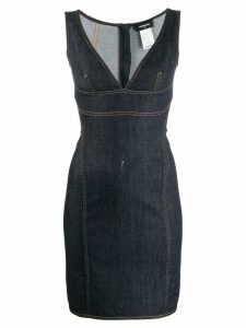 Dsquared2 tube denim dress - Blue