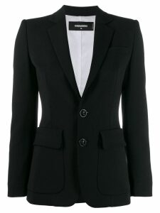 Dsquared2 classic tailored blazer - Black
