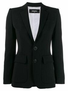 Dsquared2 classic tailored blazer - Black