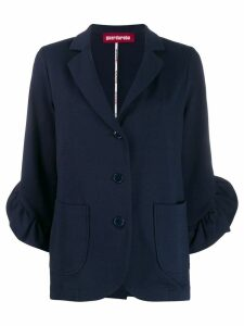 Guardaroba blazer with bell sleeves - Blue