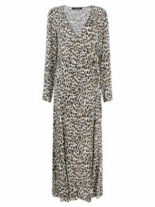 Andamane leopard print dress - Neutrals