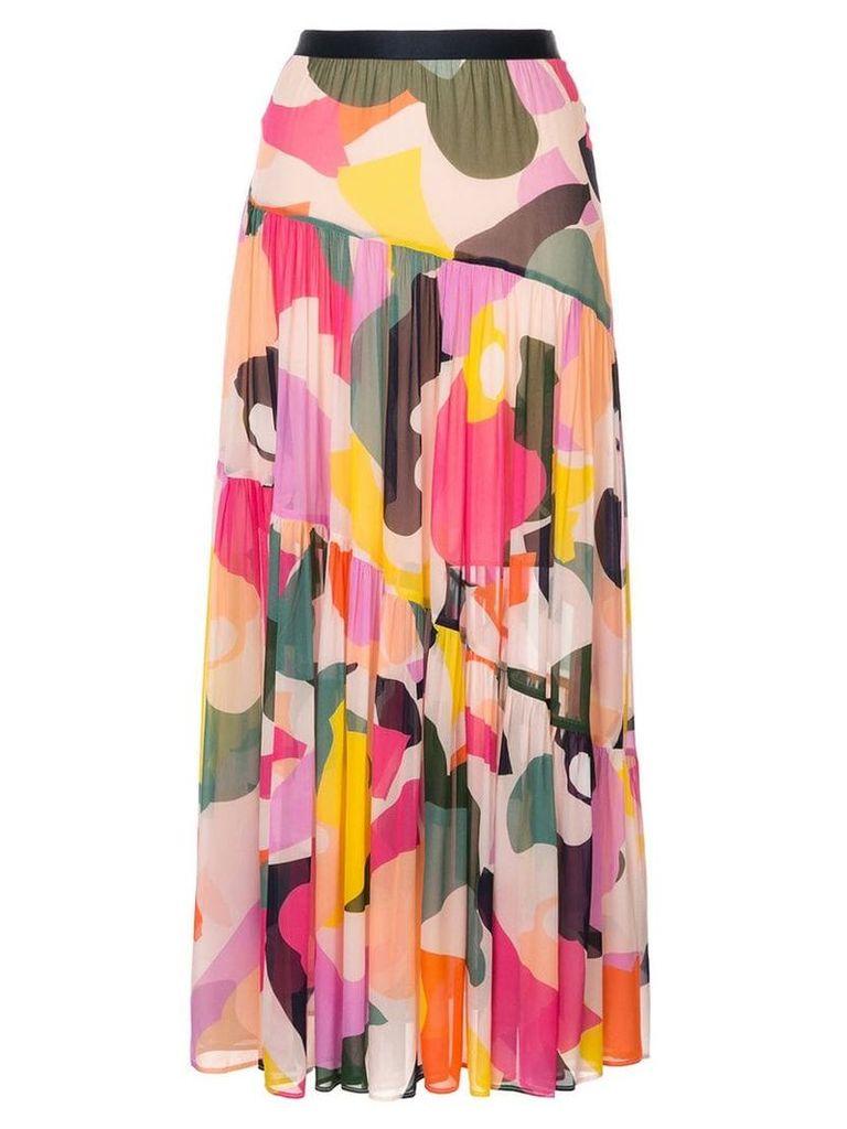 Ginger & Smart Chroma skirt - Multicolour