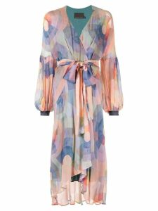 Ginger & Smart Theory wrap dress - Multicolour