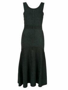 GINGER & SMART tincture metallic knit dress - Green