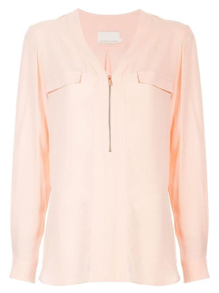 GINGER & SMART Secret Vice blouse - Pink