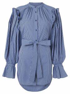 Enföld belted shirt - Blue