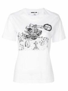 McQ Alexander McQueen bunny print T-shirt - White