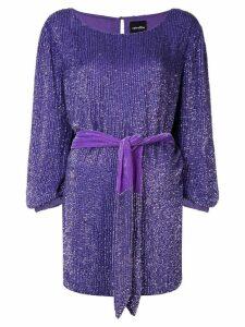 Retrofete Selma sequined mini dress - Purple